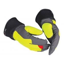 Size 10 Guide Lightweight Yellow Hi-viz Glove (1 pair)