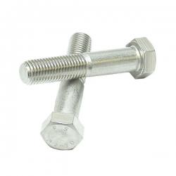 M5 x 80 Hexagon Head Stainless Steel Bolts A2 (304) DIN 931