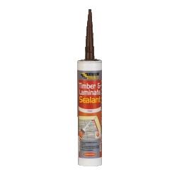 Everbuild Timber & Laminate Sealant 310ml, Beech