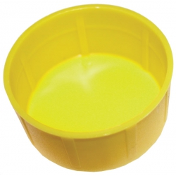 Scaffold Tube / End Caps Yellow Plastic for 48.3mm 8(G40) Size Tube
