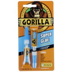 Gorilla Glue 4044100 Super Glue, 2 Tubes x 3gm each