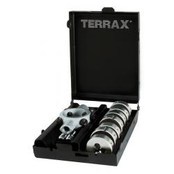 Terrax Thread-Cutting Die 8 Piece Set M3 to M12 A245014