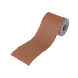 115mm x 5 Metre 120 Grit Alum Oxide Red Sand Paper Roll Heavy Duty