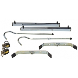 Zarges Roof Rack Clamps Comes With 2 Padlocks - 1 Pair