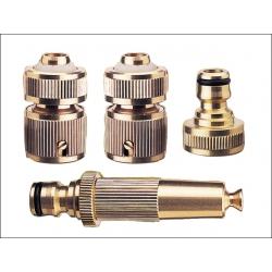 "Rehau Brass Hose Starter Connection Kit 1/2"""