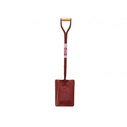 Faithfull No.2 All Steel 300 x 250mm Square Mouthed Shovel ASS2MYD