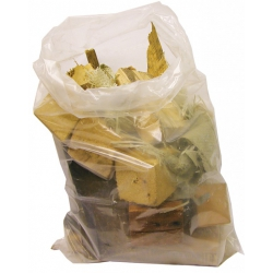 "20"" (508mm) x 30"" (762mm) Builders 440 Gauge Clear Rubble Bags / Sacks (Box of 100)"