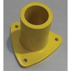 Yellow Triangular Base Foot (Single Piece) MHABF