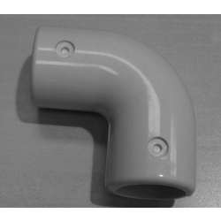 Grey 90 Degree Elbow (In two halves) MH90EG