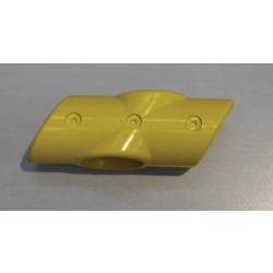 Yellow 60 Degree 4 Way Tee (In two halves) MHA4WY