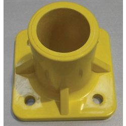 Yellow Round Hole Base Foot (Single piece) MHBFY