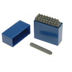 Priory 6mm Letter Stamp Set PRIL14