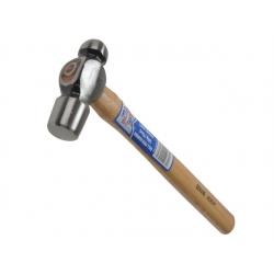 Faithfull 8oz 227g Ball Pein Hickory Shaft Hammer FAIBPH8