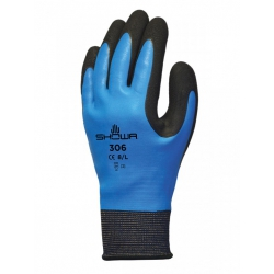 Size 8 (L) Showa 306 Water Repelant Gloves SHO3063 (1 Pair)