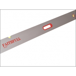 Faithfull 2400mm Screeding Level, 3 Vials & Grips FAISL8 (collection / own van delivery only)