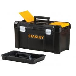 """Stanley 19"""" 482x254x250mm Plastic Tool Box 1-75-521"""