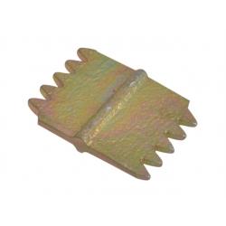 Faithfull 25mm Scutch Combs Pack of 5 FAISC1N