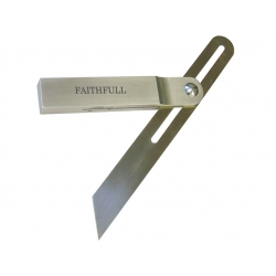 Faithfull 250mm Aluminium / Stainless Steel Sliding Bevel FAISB250SS