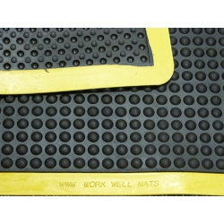 Ergo-tred Anti Fatigue Mat 900mm x 4500mm (Black / Yellow Border)