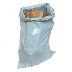 "20""(508mm) x 34"" (865mm) 500 Gauge Heavy Duty Polythene Builders Rubble Bags / Sacks (Pack of 100)"