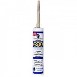 CT1 BEIGE All in One Multi-purpose Waterproof Sealant & Construction Adhesive, 290ml
