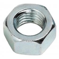 M16 Hexagon Steel Full Nut Grade 8  Bright Zinc Plated, DIN 934