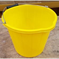 14.5 Litre Yellow Heavy Duty Bucket