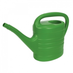 Sealey 10 Litre Green Strong Plastic Watering Can WCP10