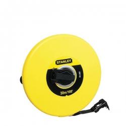 Fibreglass Measure Tape, 30 Metre / 100 Feet /  1200 Inches Stanley 0-34-262