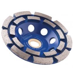125mm x 22.2mm Premier Diamond Cup Grinding Wheel DP16225
