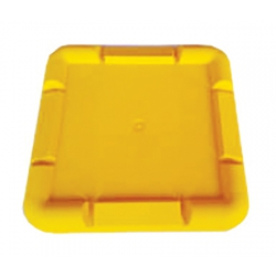 Scaffold Base Plate 220mm Yellow Suits Feet up to 160mm