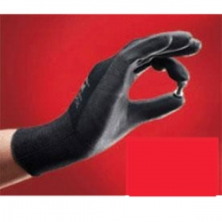 Black Latex Light Site Palm Gloves Size 7 Small (1 pair)