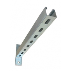 Slotted Cantilever Arm, Universal 600mm Length P2663T/600H, Galvanised