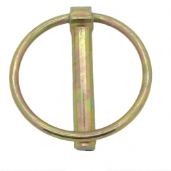 10 x 70mm Steel Linch Pin (Apple Keep) Zinc Plated