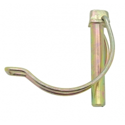 8x40mm Steel Linch Pins for Tubes / Pipes Zinc Plated