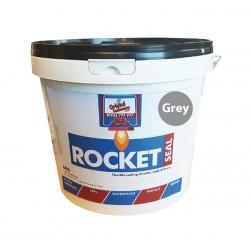 Rocket Seal Flexible Elastic Membrane for Waterproofing Roofs, Walls & Floors (alternative to WT1) 6KG Grey