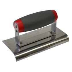 Faithfull Soft-Grip Edging Steel Trowel (150 x 75mm) FAISGTEDGESS