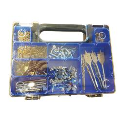 ABS Plastic Sorta Case 345 x 250 x 50mm Black / Blue