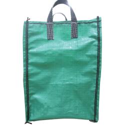 Green Garden Waste Bulk Bag 450mm x 450mm x 600mm, 2 Handle