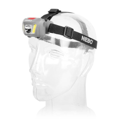 Nebo Duo LED Head Torch 250 Lumens with  3 AAA Batteries