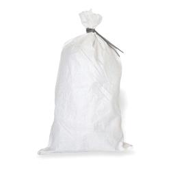 "13"" x 30"" White Woven Polypropylene Sand Bags / Sacks"