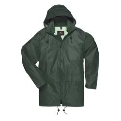 Large Olive Green Portwest Classic Rain Jacket
