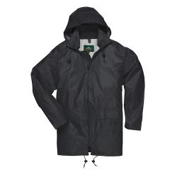 4XL Black Portwest Classic Rain Jacket