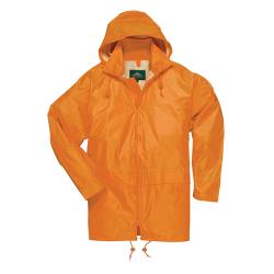 Small Orange Portwest Classic Rain Jacket