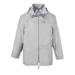 XXL Grey Portwest Classic Rain Jacket