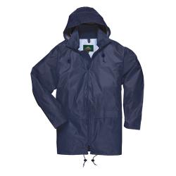 Large Navy Portwest Classic Rain Jacket