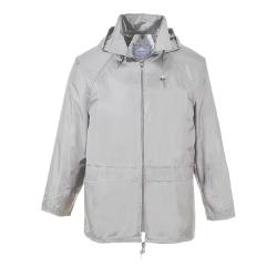 Small Grey Portwest Classic Rain Jacket