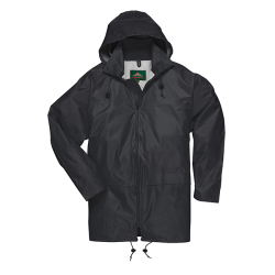 Medium Black Portwest Classic Rain Jacket