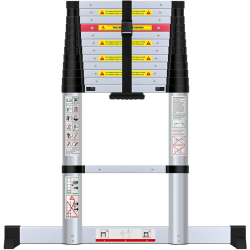 Kamtec 3.8M Telescopic Ladder With Stabilizer KTL038F