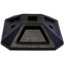 Durafoot 500mm 25KG Rubber Base Suits Deep &Shallow Channel